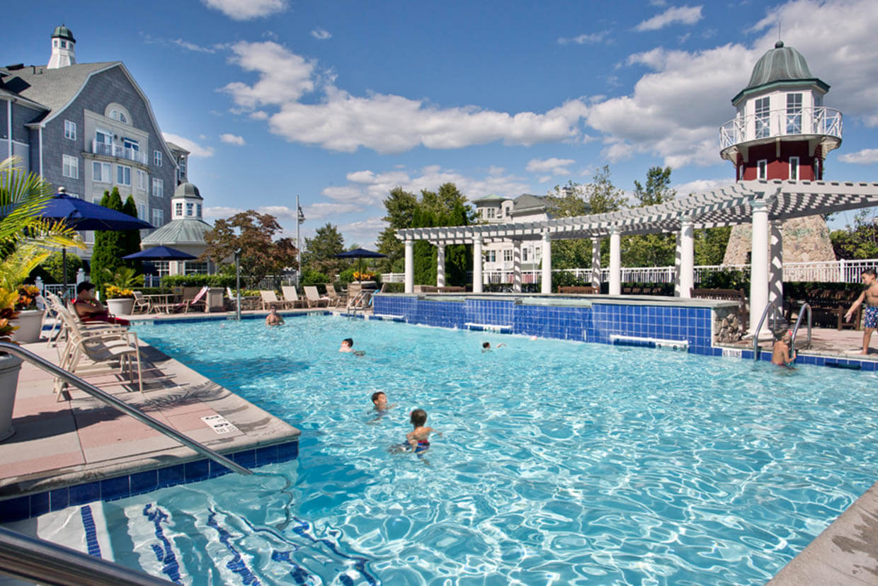 The Pool at The Harbors Club