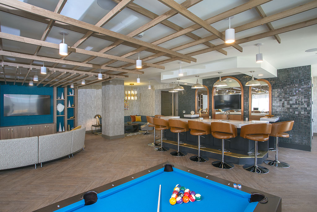 The Bar and Billiards at 1 Martine